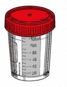 Kontajner 120 ml, Flexi-Tainer, sterilný so štítkom, 20 ks