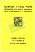 Mezinárodní očkovací průkaz žlutý, 10 listů