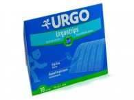 Náplast Urgo Strips 100 x 6 mm sterilní, 10 ks