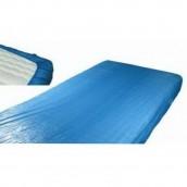 Návlek na postel  z PE modrý, 10 ks v balení