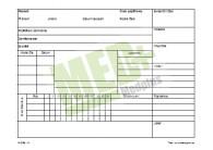 Obálka na stomatologický zdravotní záznam C5, 100 ks