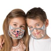Ochranný štít pre deti Kids Shields s gumičkami za uši, 2 ks