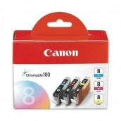 Originální inkoustová náplň Canon CLI8c,m,y,