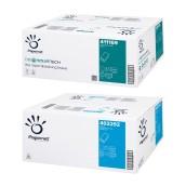 Papírové ručníky Papernet 2-vrstvé, 100% celulóza, 3150 ks