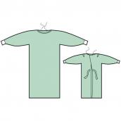 Plášť operační Classic zavaz. na zádech ručník, 121 cm, 1 ks