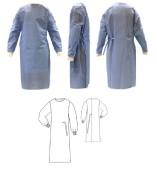 Plášť operační H830, sterilní