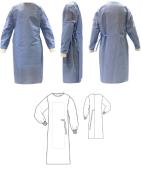 Plášť operačný H831 s vystužením, sterilný