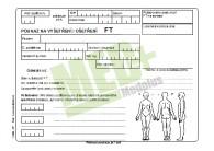 Poukaz na vyšetření – ošetření FT A5, blok