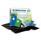 Rubber-Dam, bez příchutě, 36 kusů
