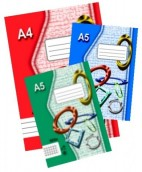 Sešit A6 644 recyklovaný, linka, 40 listů