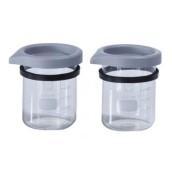 Skleněný pohárek, objem 600 ml, bal. 2 ks Hygosonic