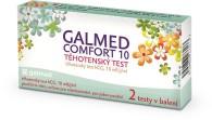 Těhotenský test Galmed hCG, Comfort 10, 2 ks v balení