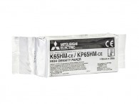 Termocitlivý papier Mitsubishi KP65-HM, 110 mm x 20 m, lesklý povrch