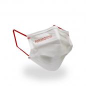 Ústenky NANO 4 vrstvé s gumičkou, bílá, 50 ks