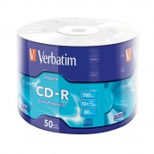 Verbatim CD-R 700MB 52x, 50 ks