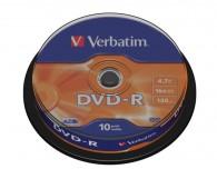 Verbatim DVD-R 4,7GB 16x, 10 ks