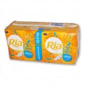 Vložky Ria Ultra Silk Normal Plus s křidélky, Duopack, 20 ks
