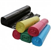 Vrecia na odpad LDPE Extra Top 240 l, 10 ks v rolke