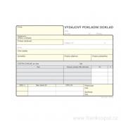 Výdajový pokladní doklad, 100 listů