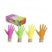 Vyšetřovací rukavice Style nitril, nepudrované, Tutti frutti, 96 ks
