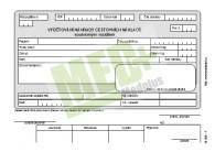 Vyúčtování náhrady cestovních nákladů soukromým vozem