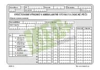 Vyúčtování výkonů v ambulantní stomatologické péči