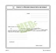 Žádost o předání zdravotních informací, 100 ks v balení