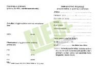 Zdravotní průkaz pracovníků v potravinářství, 1 ks