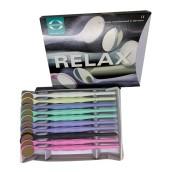 Zubní zrcátko Relax FS Ultra, křišťálové, vel. 5 plochá, 10 ks