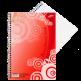 Blok krúžkový s bočnou špirálou A5, 40 listov