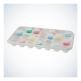 Víčko na odměrný kelímek Med-Comfort Basic 30 ml, bílé, 500 ks