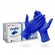 Vyšetřovací rukavice Cranberry Evolve nitril, nepudrované, modré, 100 ks